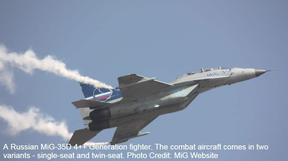 IAF pilots fly Mikoyan MiG-35 fighter at Russia's MAKS 2019, check out Sukhoi Su-57E