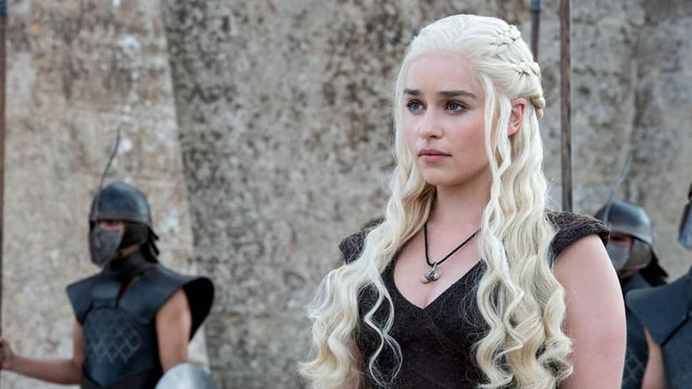 'Game of Thrones' stars Emilia Clarke, Rose Leslie on Indian adventure