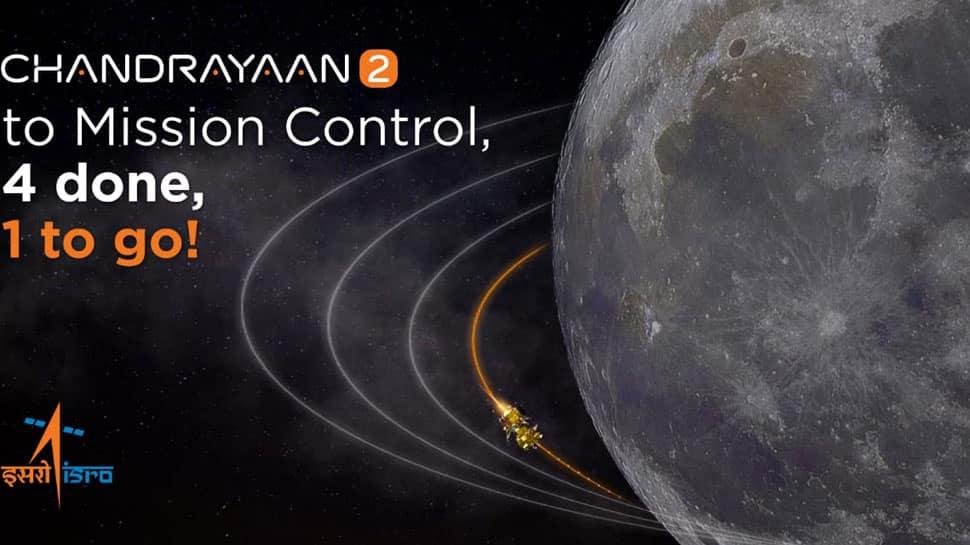 Chandrayaan-2 successfully enters Moon's fourth orbit, confirms ISRO