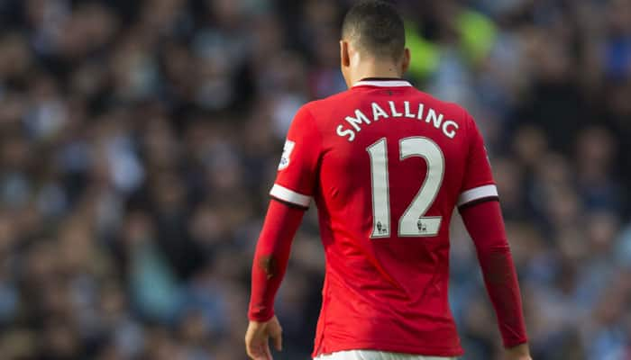 Manchester United's Chris Smalling completes loan move to AS Roma