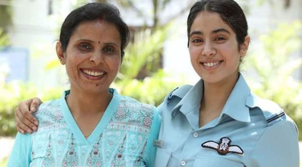 Janhvi Kapoor posts a heartfelt birthday wish for IAF pilot Gunjan Saxena