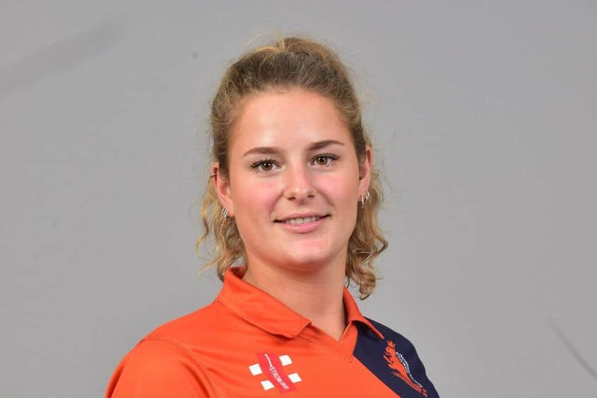 Netherlands women's cricketer Robine Rijke suspended over illegal bowling action