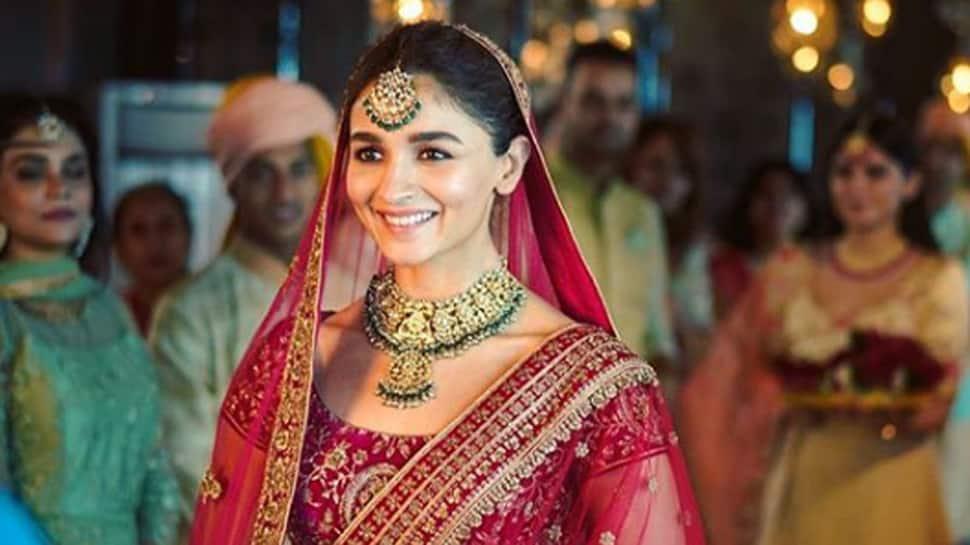 Alia Bhatt turns a pretty bride for an ad shoot—See pics
