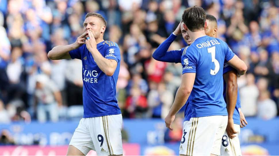 Leicester City's Jamie Vardy sinks Bournemouth with clinical display in 3-1 win