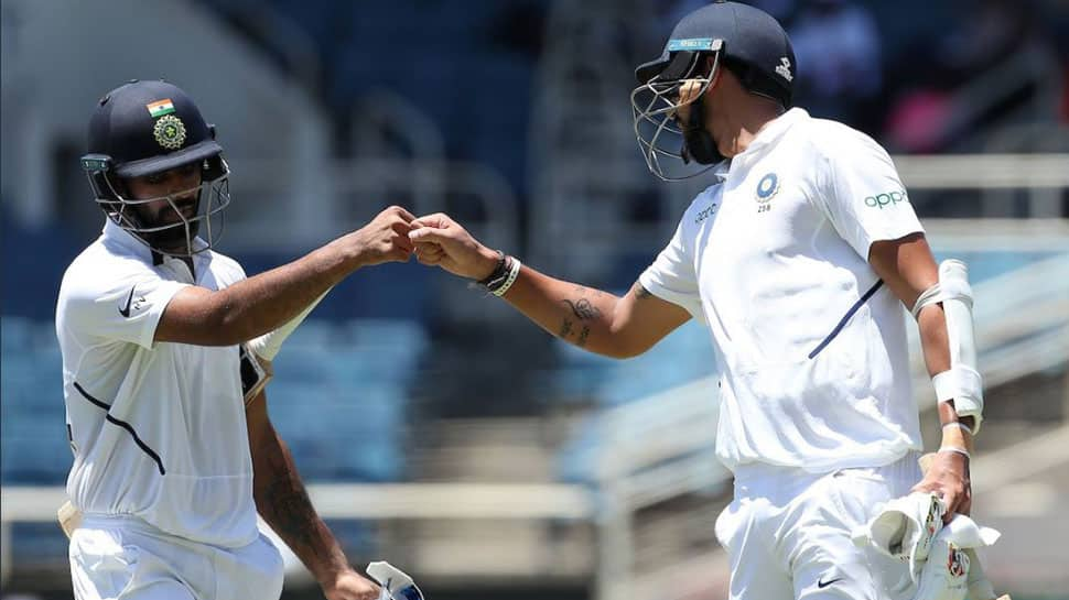 2nd Test, Day 2: Hanuma Vihari's maiden ton, Ishant Sharma's 50 help India post 416 at tea