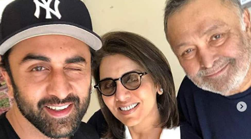 Ranbir had tears in his eyes: Neetu Kapoor on breaking the news of Rishi Kapoor's cancer to son
