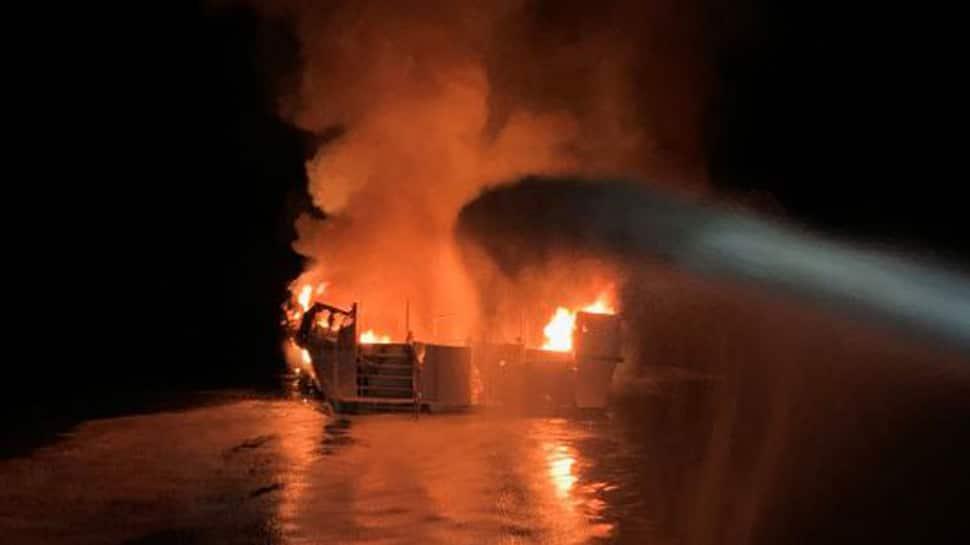California boat fire: 25 killed, 9 missing after blaze off Santa Cruz Island