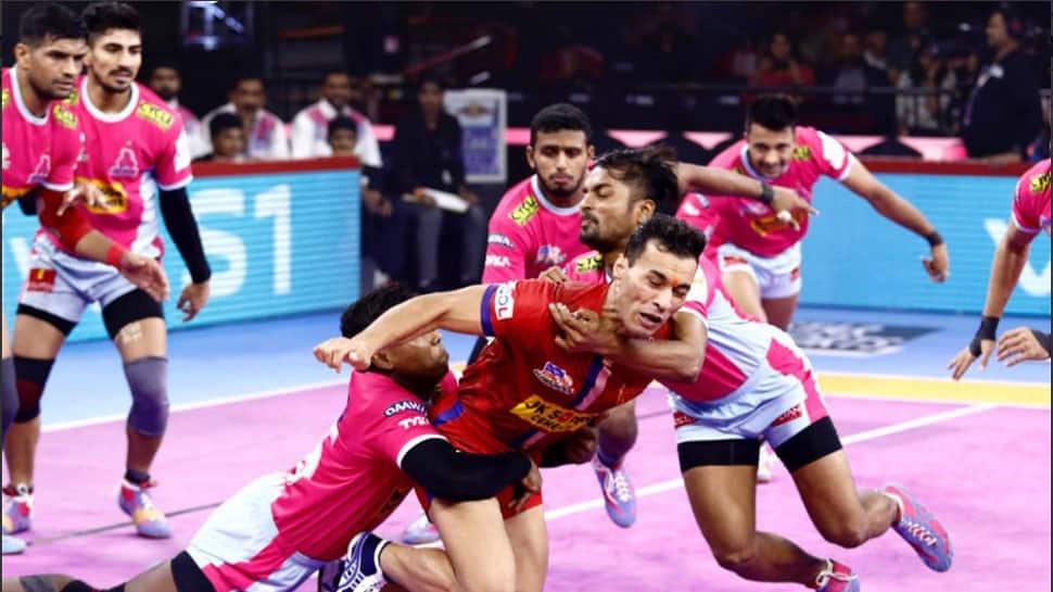 PKL 7: Dabang Delhi ride Naveen Kumar's stunning effort to pip Jaipur Pink Panthers