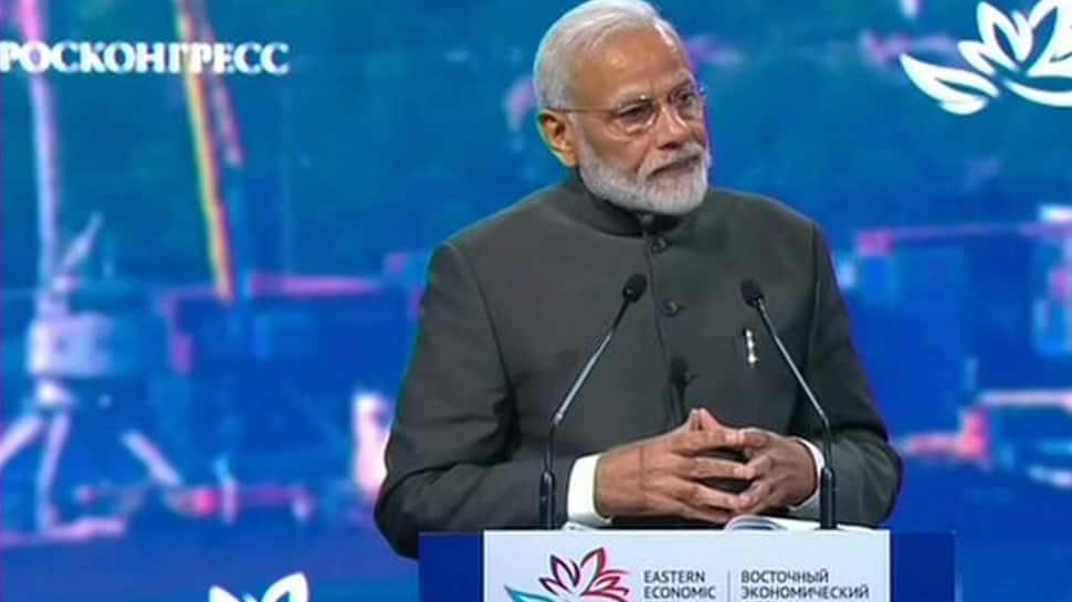 PM Narendra Modi announces $1billion line of credit for development of Russia's Far East region