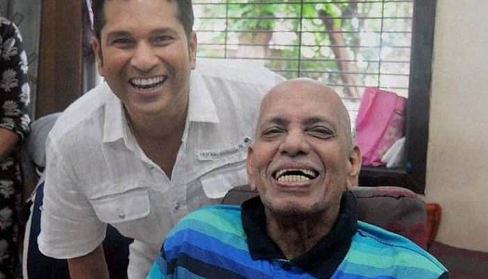 Sachin Tendulkar pays homage to coach Ramakant Achrekar on Teacher's Day