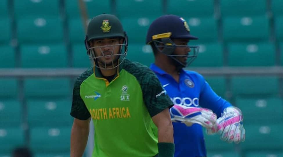 South Africa A notches a narrow 4-run win over India A