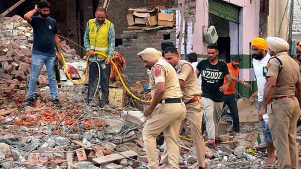 Gurdaspur cracker factory was illegal, case registered: Police