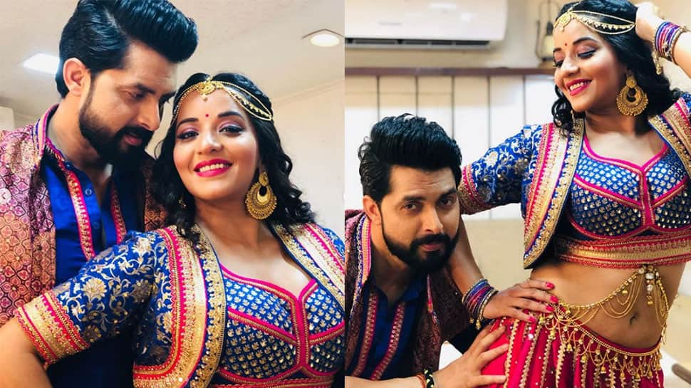 Monalisa dances to 'Tinku Jiya' song with hubby Vikrant and it's unmissable - Watch