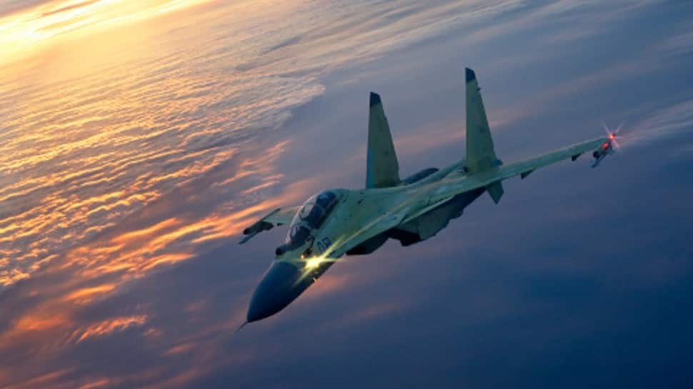 Russian Sukhoi Su-27, Su-30, Su-35, Mikoyan-Gurevich MiG-29 took off 23 times in a week to track foreign jets
