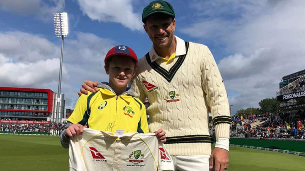 Meet the 12-year-old kid who put out bins to watch the Ashes
