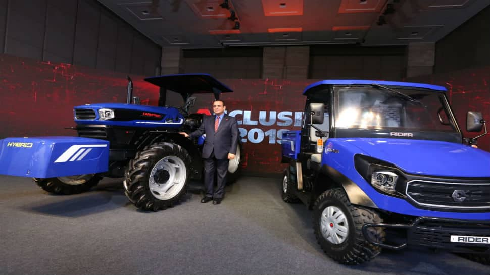 Escorts announces India's first hybrid concept tractor
