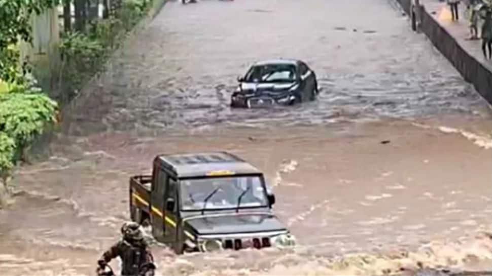 Watch: Video of Bolero driving past Jaguar in Mumbai rains goes viral