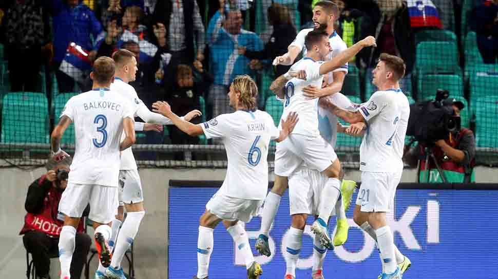 Euro 2020 qualifier: Slovenia end Poland's perfect record