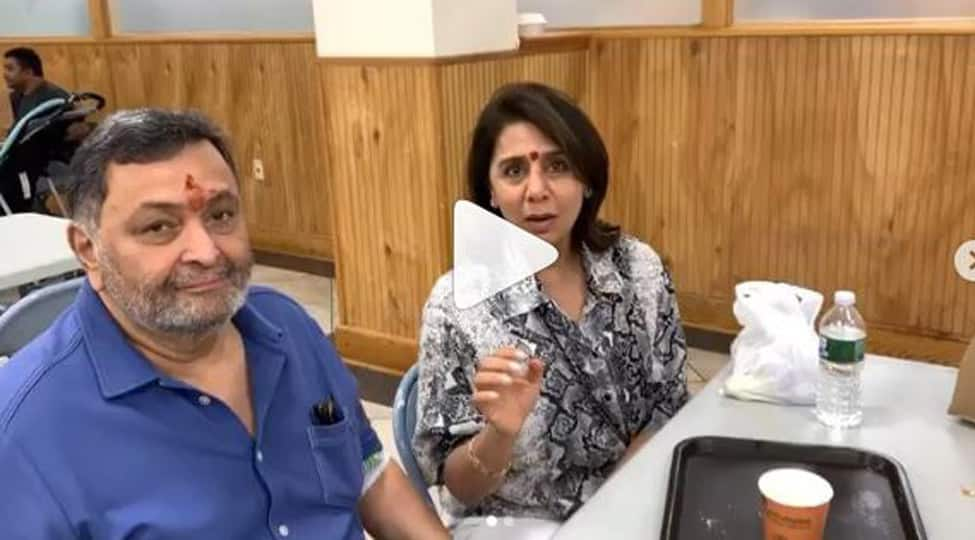 Neetu Kapoor recites a Tamil tongue twister, Rishi Kapoor reacts hilariously-Watch