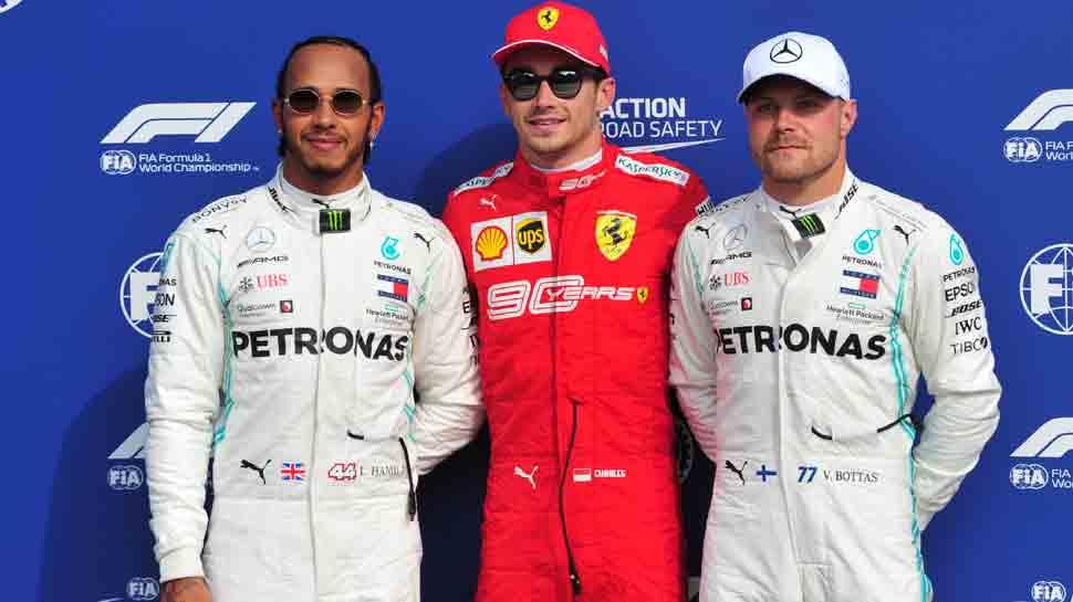 Charles Leclerc puts Ferrari on pole at Monza amid last lap farce