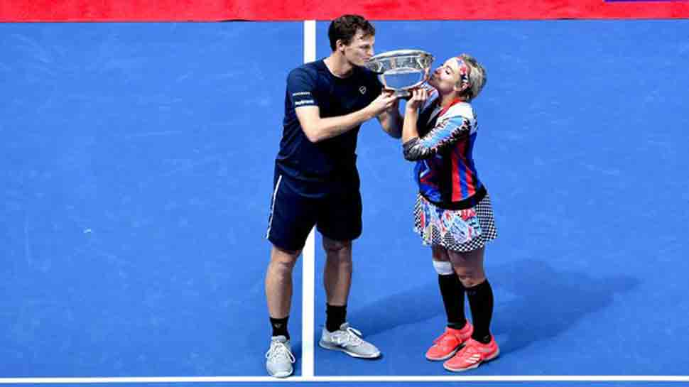 Jamie Murray, Bethanie Mattek-Sands defend US Open mixed doubles' title