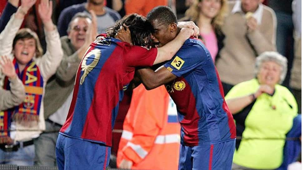 Lionel Messi, Didier Drogba pays tribute to retiring Barcelona legend Samuel Eto'o