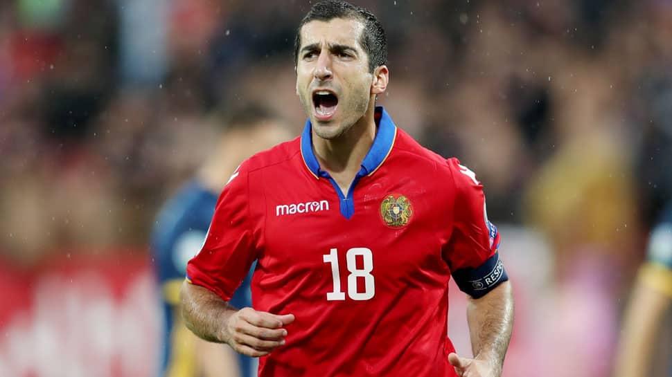 Euro 2020 qualifier: Henrikh Mkhitaryan scores twice as Armenia stun Bosnia