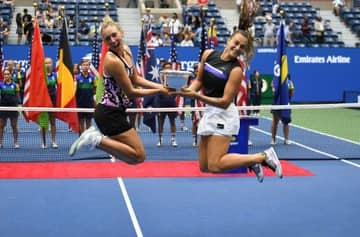 Elise Mertens-Aryna Sabalenka win first Grand Slam title at US Open