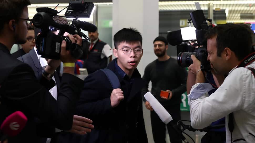 My town is the new Cold War's Berlin, says Hong Kong activist Joshua Wong