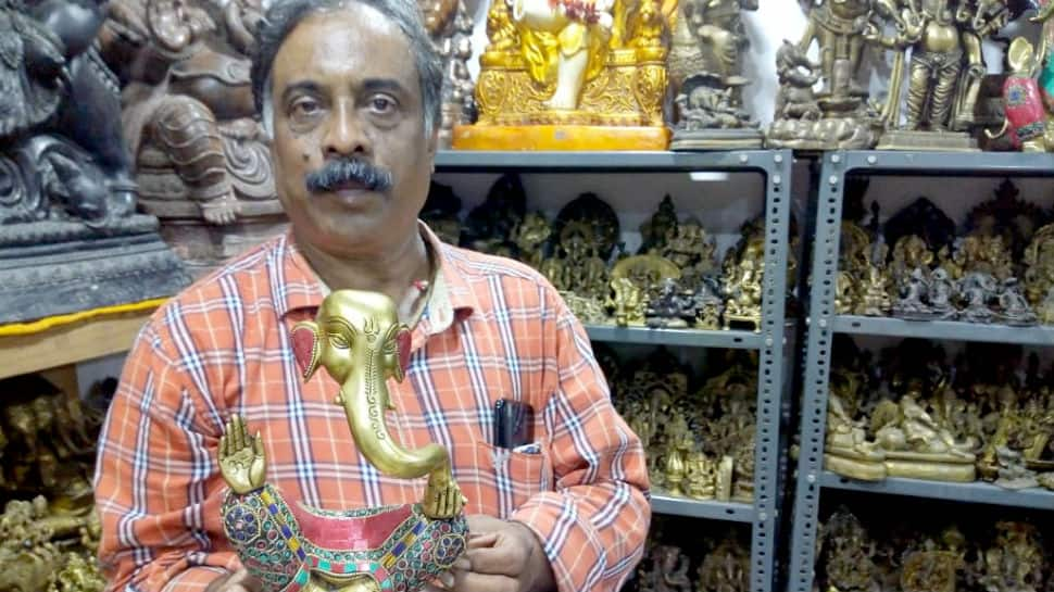 Hyderabad man claims to have collection of 19,022 Lord Ganesha idols