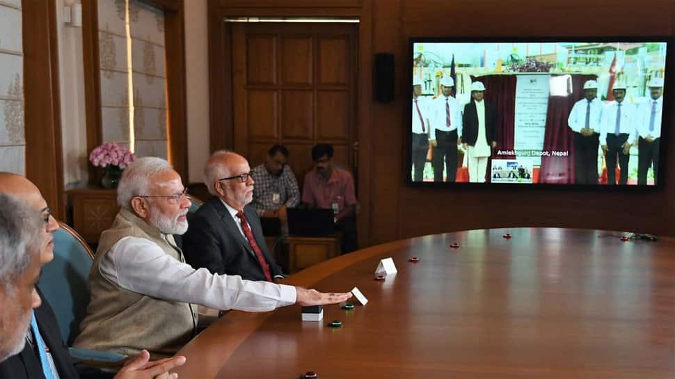 PM Modi, Nepal PM jointly inaugurate 69-km Motihari-Amlekhganj pipeline via video conference