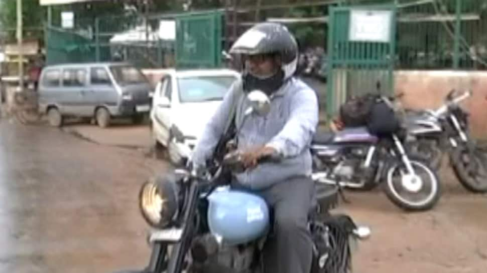 Vadodara man pastes all vehicle-related documents on helmet, pictures go viral