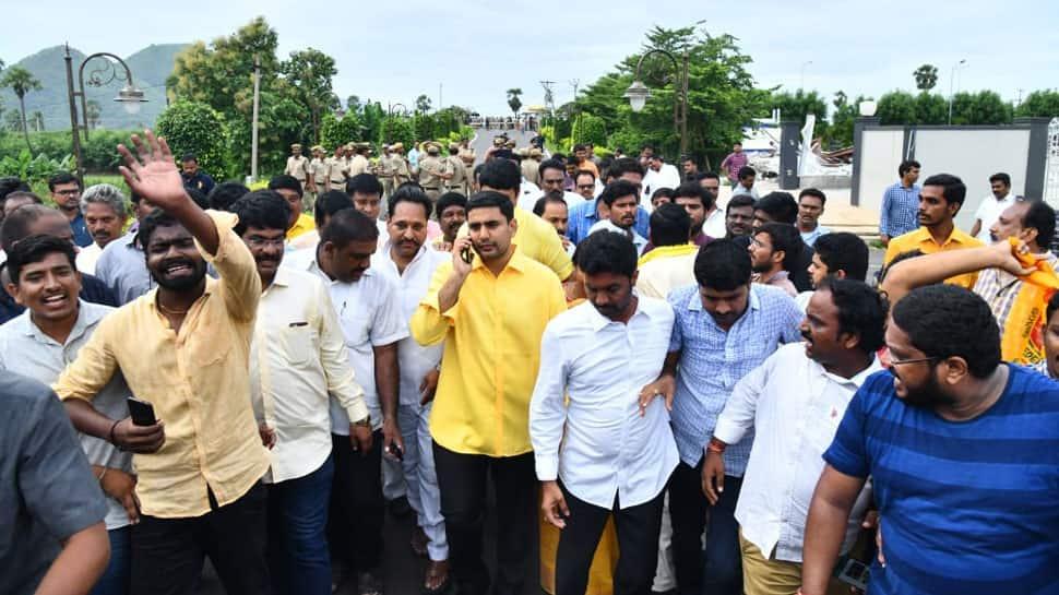 Chandrababu Naidu, son Nara Lokesh and several TDP leaders under house arrest
