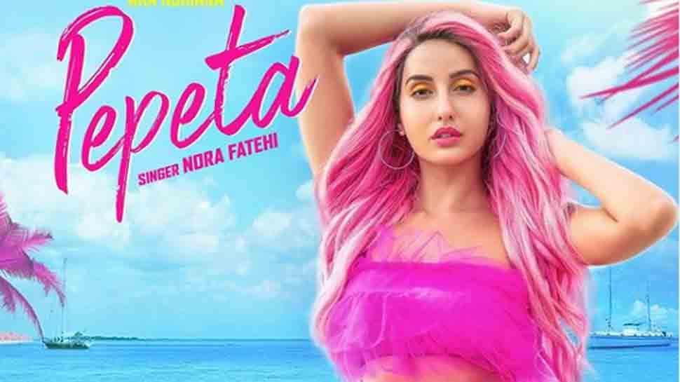 Nora Fatehi's striking pink hair and sizzling dance moves on a beach make 'Pepeta' must-watch party song!
