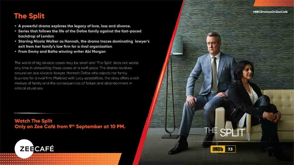 Witness a powerful drama about legacy of love, loss and divorce with 'The Split' on Zee Café