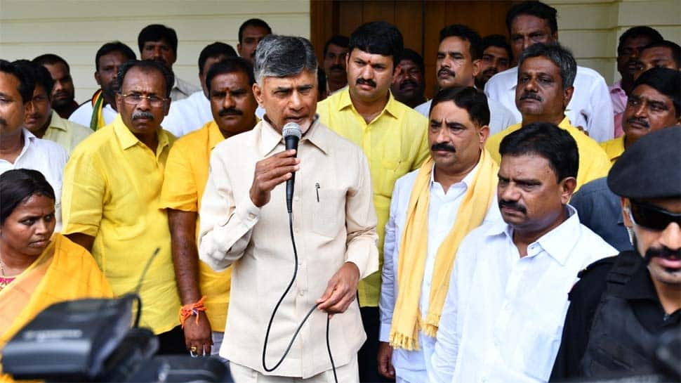 In house arrest, Chandrababu Naidu accuses YSRCP of violating human rights with 'cowardly' actions