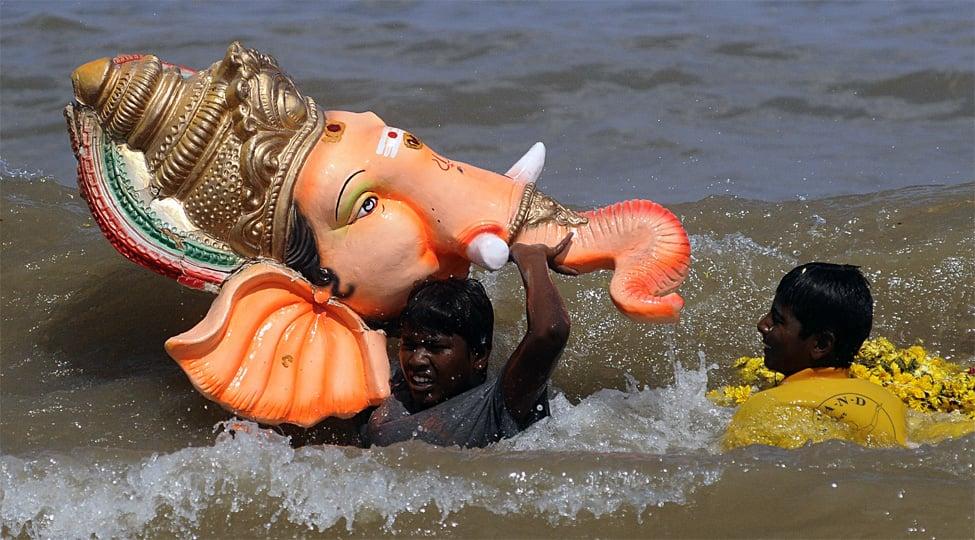 Six children drown in Karnataka pond during Ganesha immersion