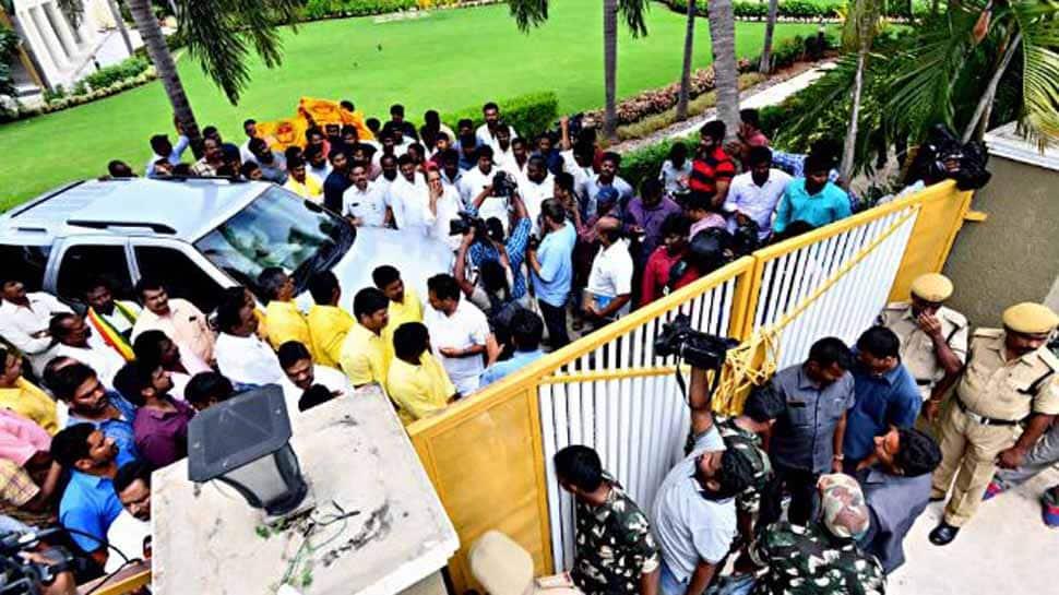 Chandrababu Naidu's actions were increasing tensions, creating disturbance: Andhra Pradesh DGP
