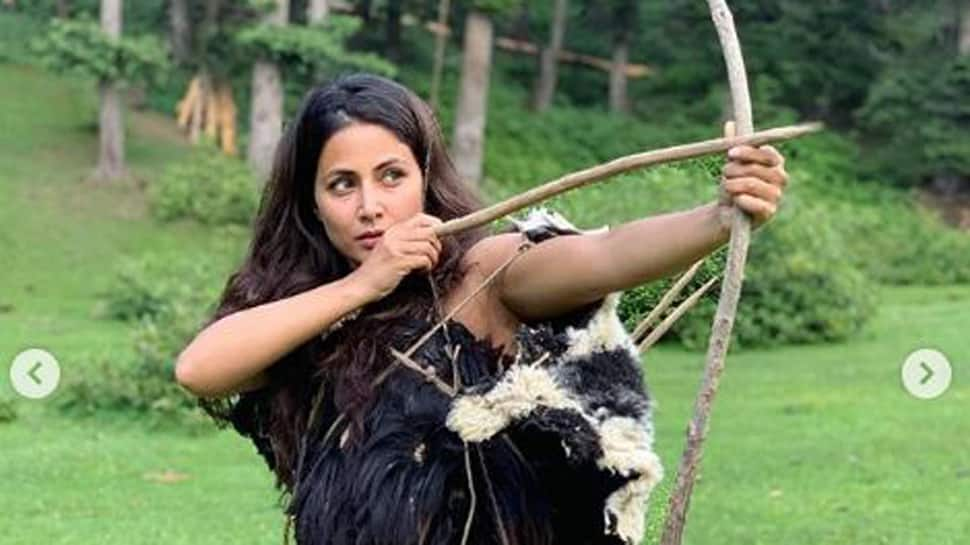 Hina Khan shares first look from her Indo-Hollywood film, The Country of Blind- See inside