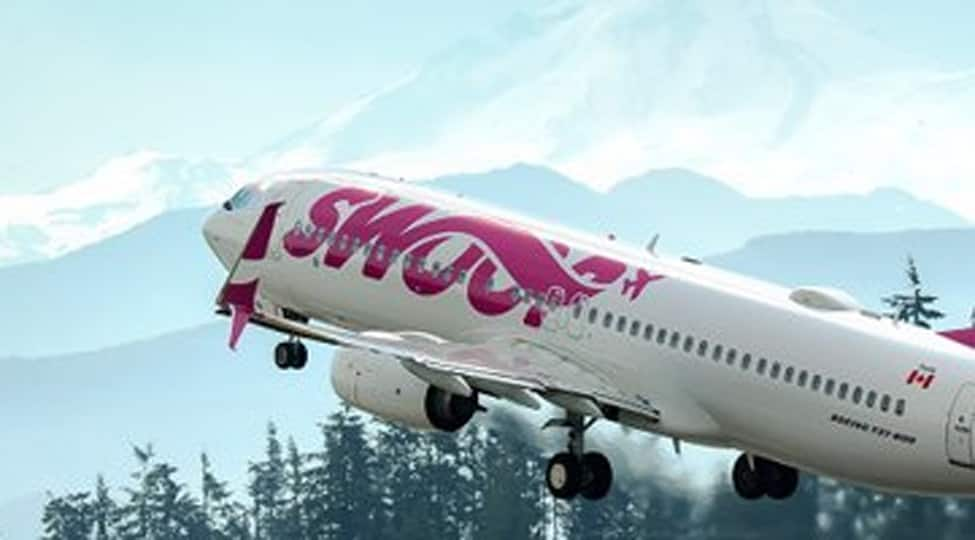 Swoop flight to Edmonton suffers bird strike, makes emergency landing at Abbotsford airport