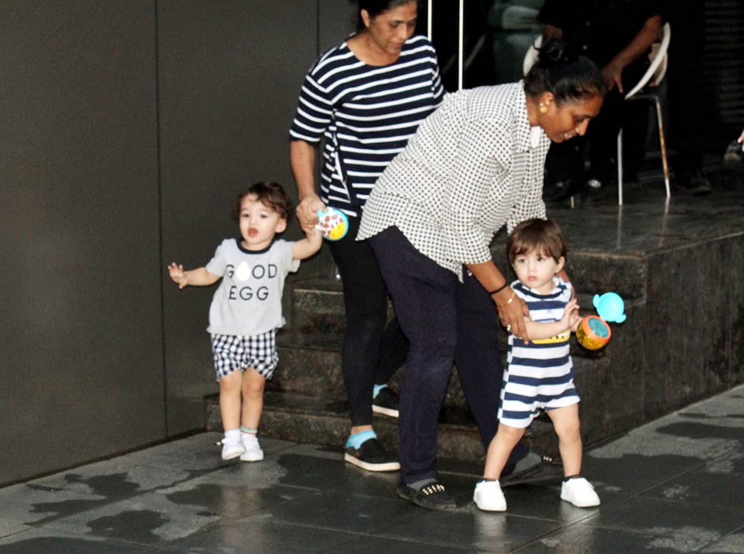 Sunny clicked with kids