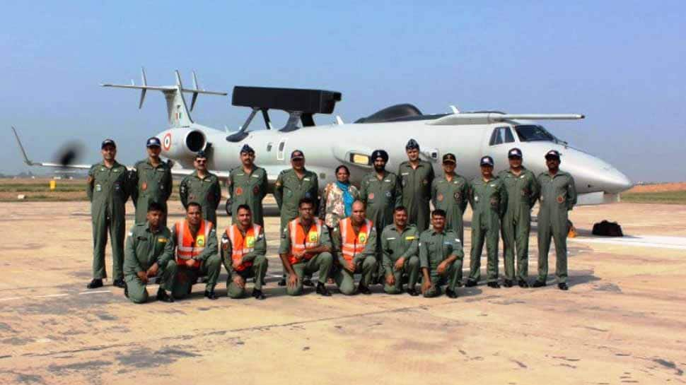 IAF formally inducts 2nd Airborne Early Warning & Control aircraft into its inventory