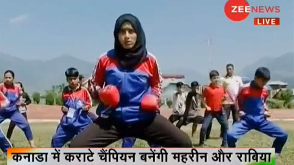 Kashmiri Karate kids Mehreen and Rabia to represent India in Canada