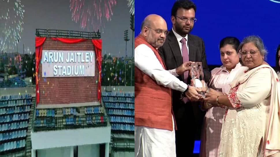 Delhi's Feroz Shah Kotla Stadium renamed after Arun Jaitley; Virat Kohli, top cricketers attend event
