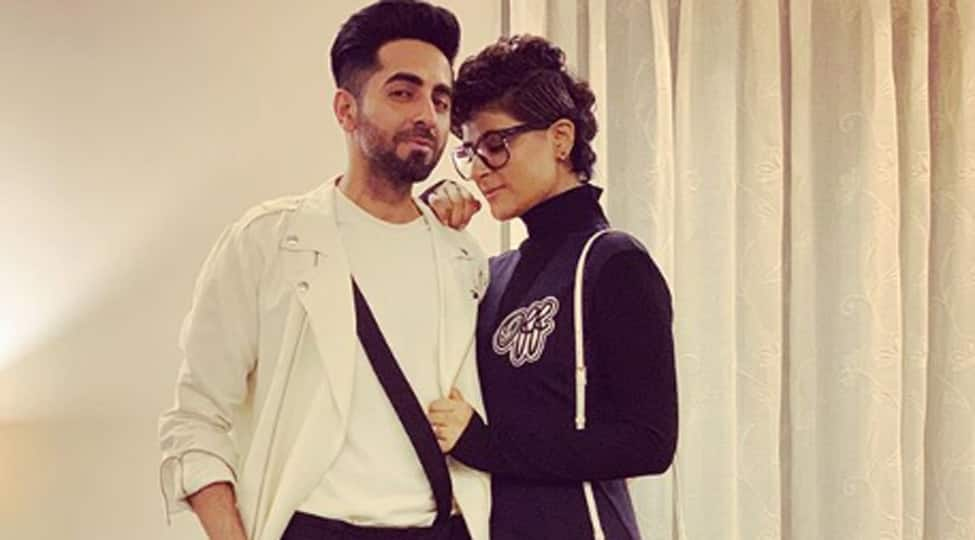 Ayushmann Khurrana sees his dream girl in wife Tahira