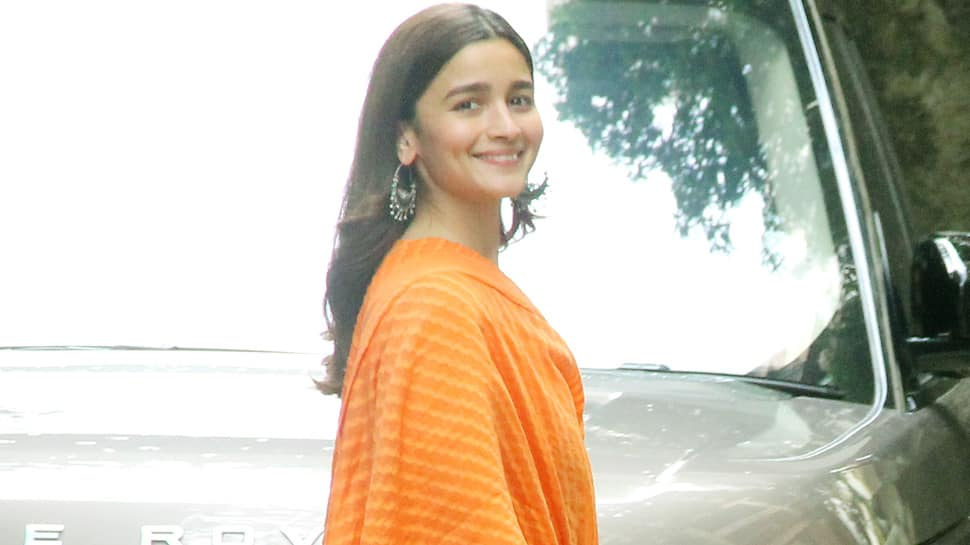Alia Bhatt can't stop smiling outside Sanjay Leela Bhansali's office—Pics