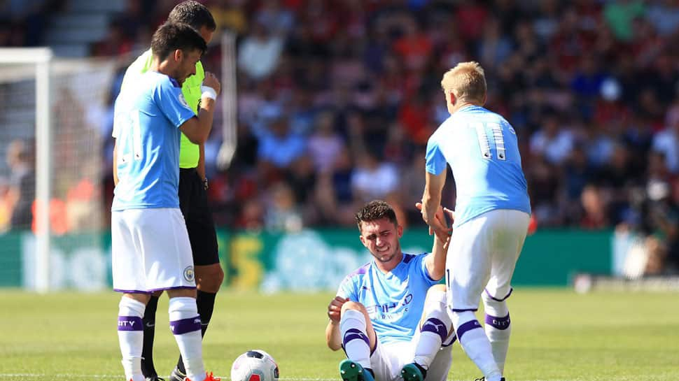 Injured Manchester City defender Aymeric Laporte out for up to six months