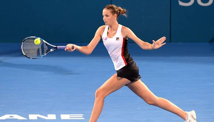 Karolina Pliskova wins twice in a day to reach Zhengzhou Open semis