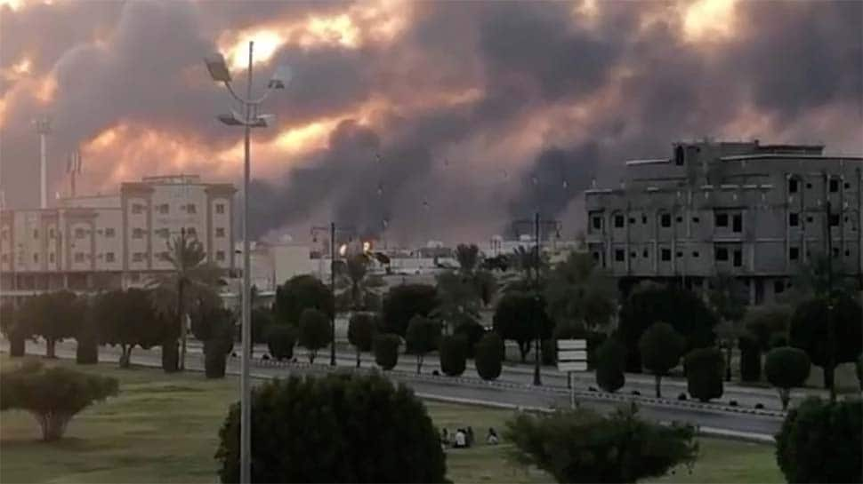 2 major Saudi Arabia oil facilities ablaze after drone strikes