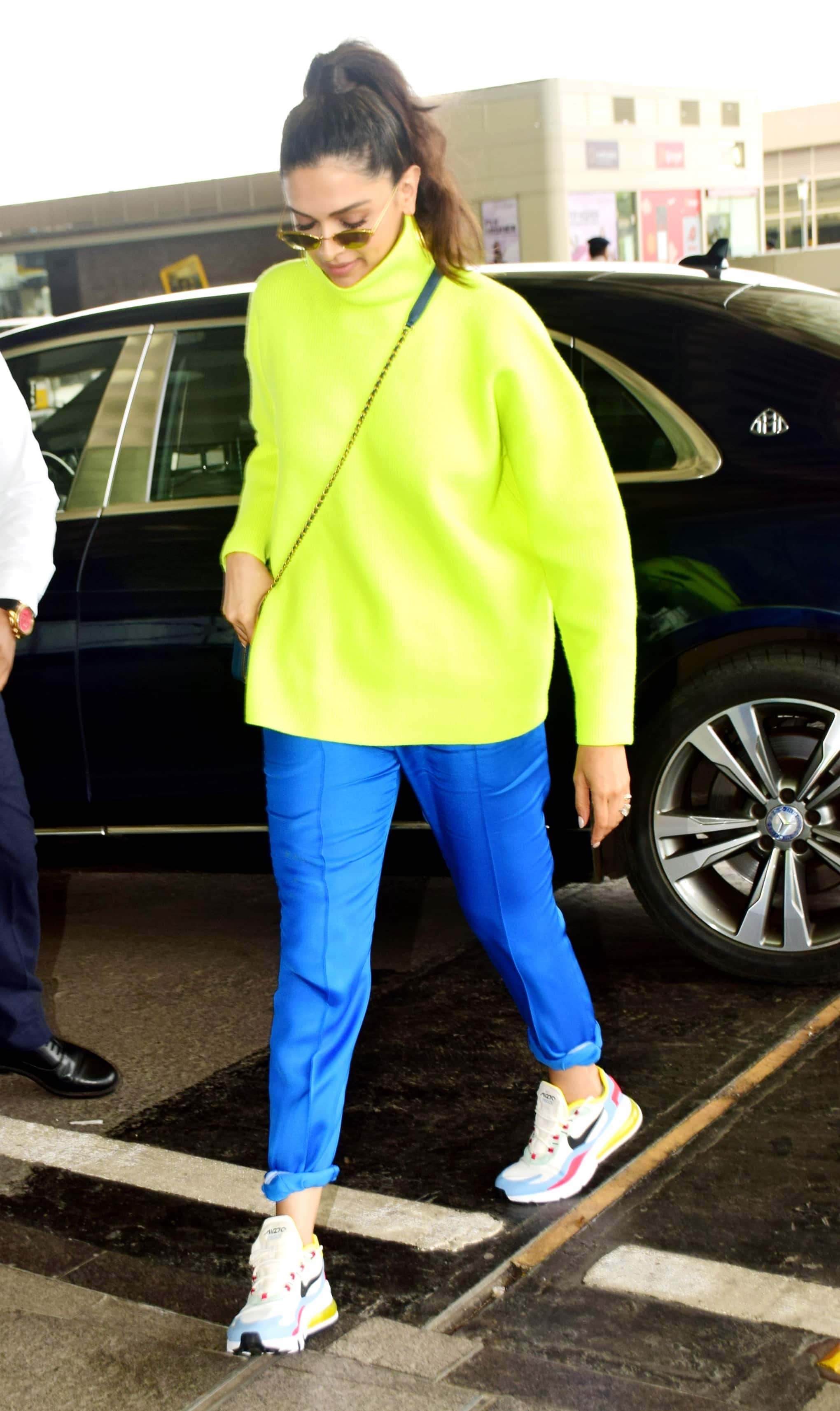 Deepika Padukone keeps it casual at the airport